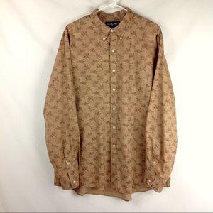 Vintage 90's Ralph Lauren Polo Horse Print Shirt